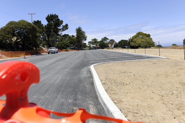 Presidio of Monterey parking lot to be completed May 20