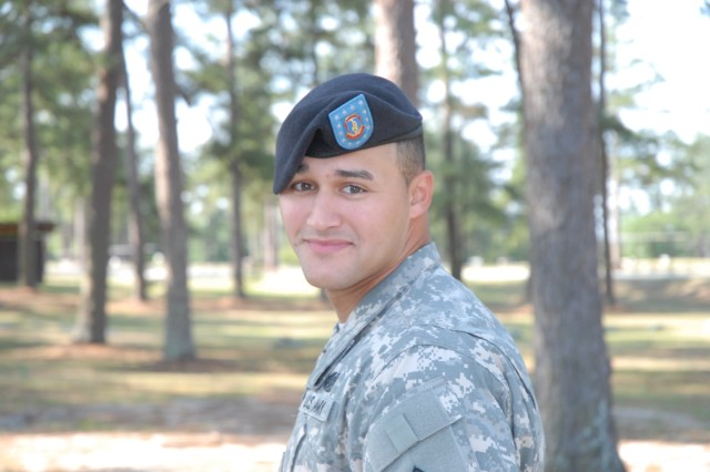 Spc. Jose Lopez, a military policeman with the 17th MP Detachment, was named garrison Soldier of the Year.