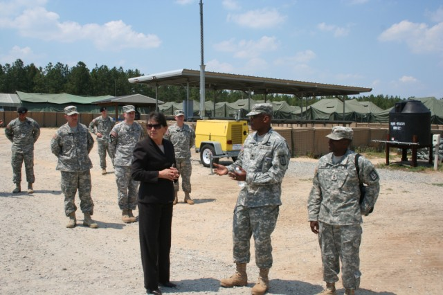 SSI welcomes dignitary