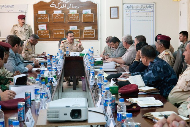 Iraqis lead western Anbar security conference