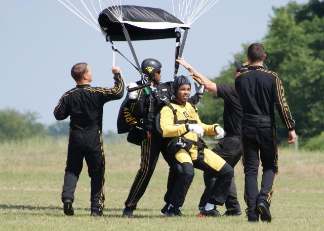Golden Knights help mark Signal Corps Anniversary