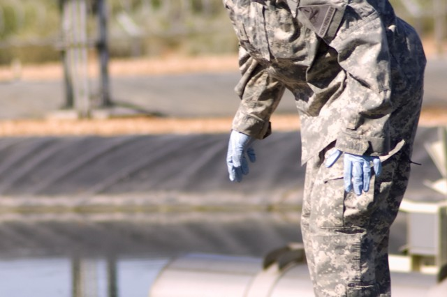 """125th BSB, 3rd IBCT, 1st AD's """"Roughrider"""" company 'keeps it clean' during FTX"""