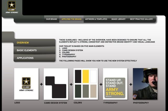 Portal to standardize Army branding