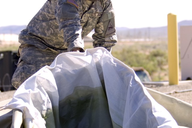 "125th BSB, 3rd IBCT, 1st AD's ""Roughrider"" company 'keeps it clean' during FTX"