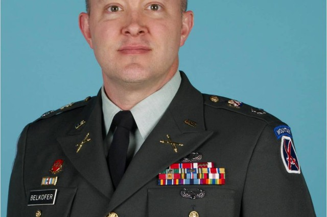 Lt. Col. Thomas P. Belkofer