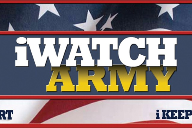 The Army iWatch logo