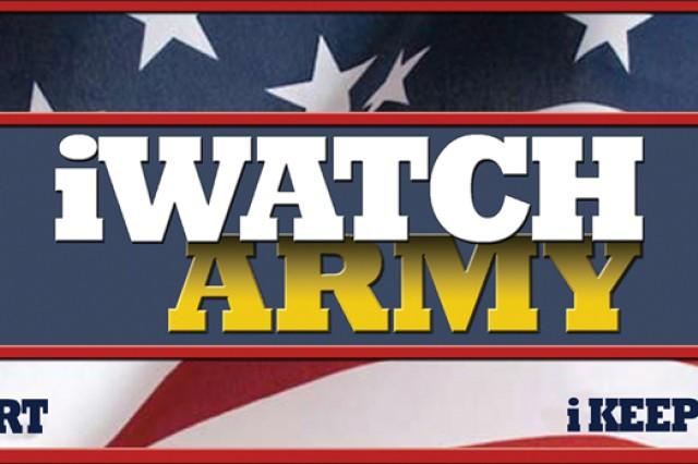 The Army iWatch logo