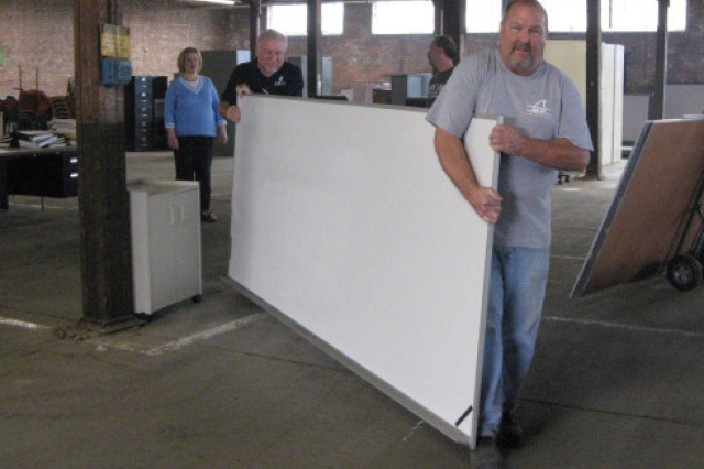 Quad-City Area School Benefits From Excess Furniture Program