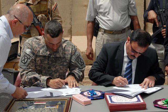U.S. Forces Transfer JSS to Iraqi Army