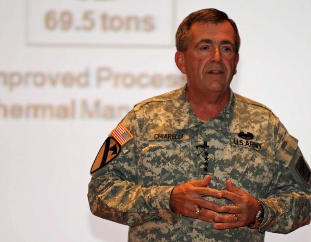 Chiarelli: Armor School moving home to Benning