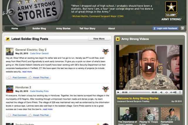 Army Strong Stories screenshot