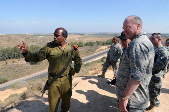 Guard, Israeli Home Front Command trade experiences