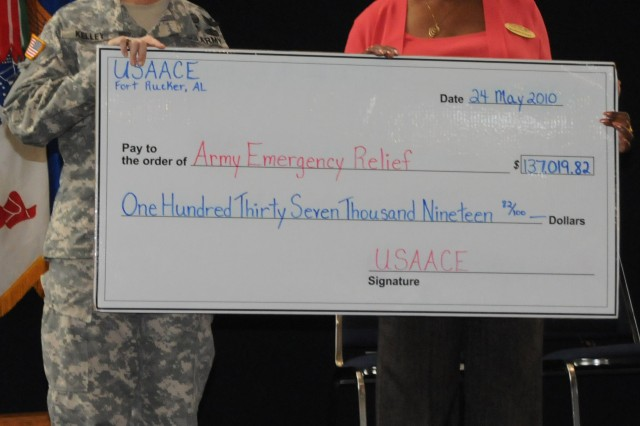 Fort Rucker AER campaign raises $137,000
