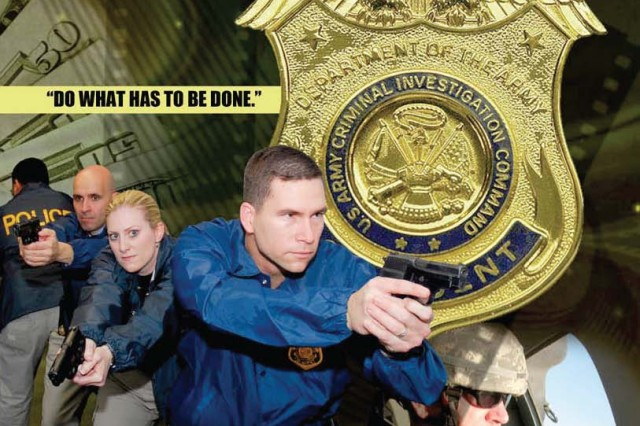 Criminal Investigation Command protects the  Army's honor.