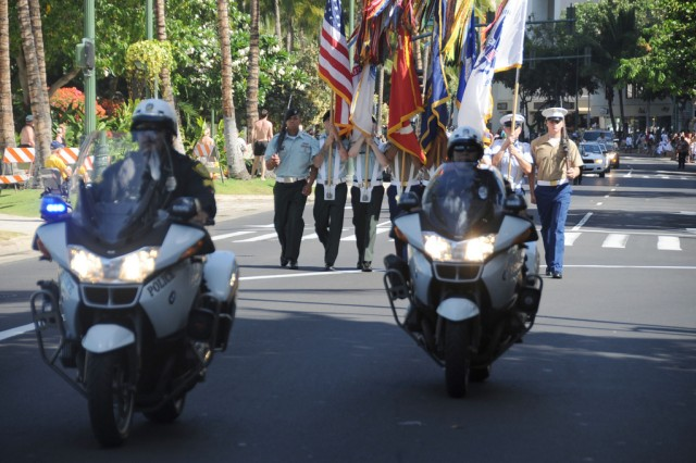 Community bids aloha to military ohana with parade, festival
