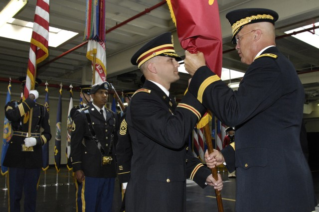 WHTA Change of Command held on May 26