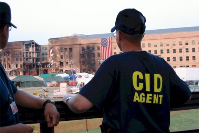 CID special agents responded to the 9/11 attack on the Pentagon.