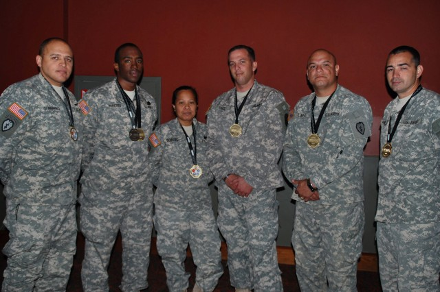 Warrior Games Medal Winners