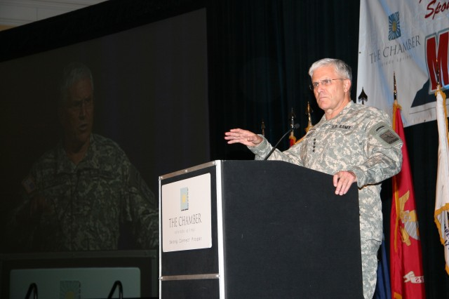 Casey cites state of Army, looks to future