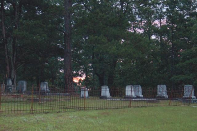 Cemeteries on post date back half a millennium