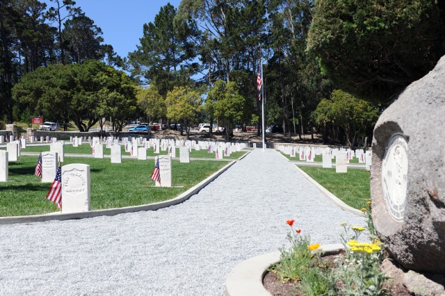 PRESIDIO OF MONTEREY, Calif. - The cemetery after the over $500,000 in renovations. A rededication was commemorated May 29.