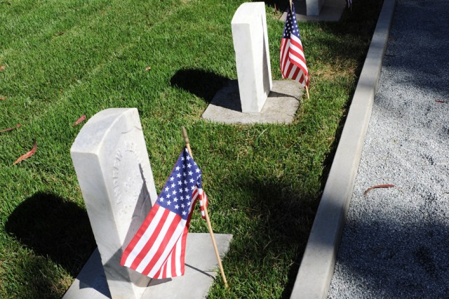 PRESIDIO OF MONTEREY, Calif. - The cemetery recieved a $500,000 make over befitting those service and family members who served honorably.