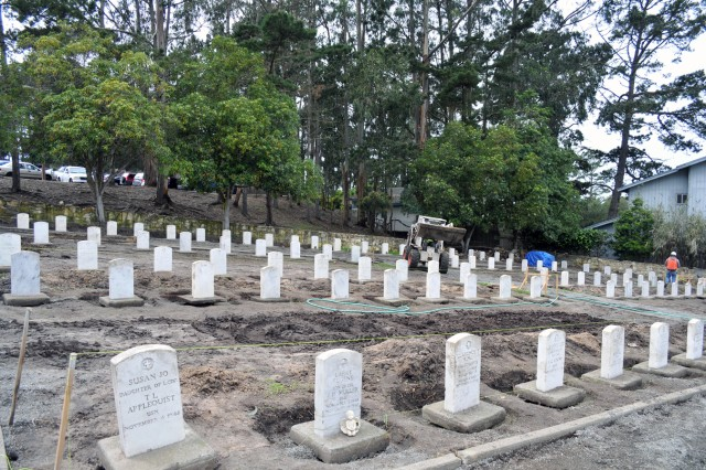 PRESIDIO OF MONTEREY, Calif. - Over $500,000 in renovations for the Presidio of Monterey cemetary was used to bring the cemetery to pristine condition in a manner befitting those that lie in rest here.