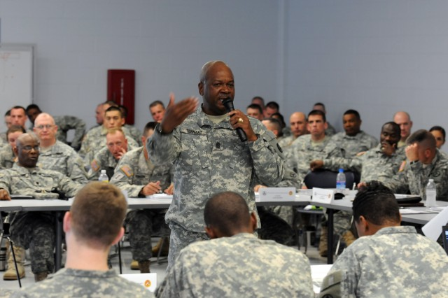 Sustainers return to basics with staff exercise