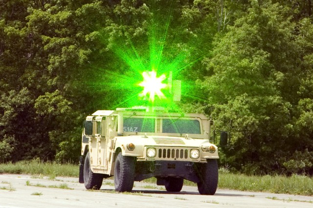 The Army's Green Light Escalation of Force, or GLEF system, is being tested in Afghanistan to assist Soldiers by giving them an interim step before escalating force.