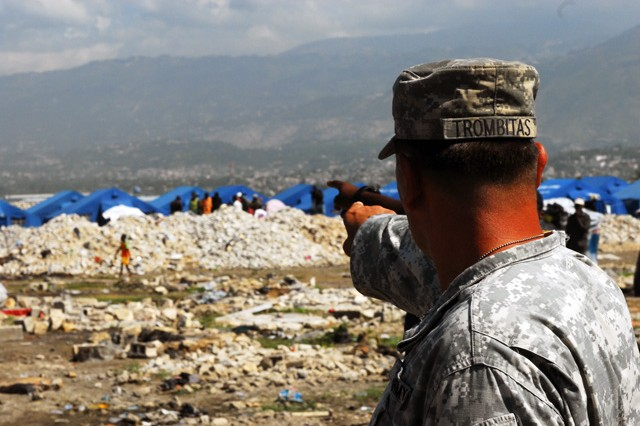 National Guard Soldiers continue humanitarian help in Haiti