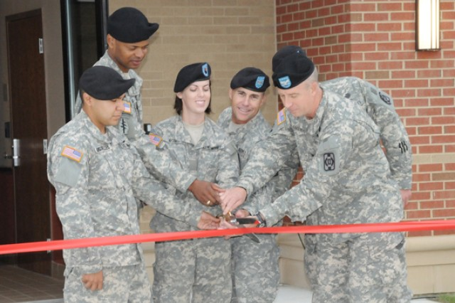 Quartermasters Get New Barracks
