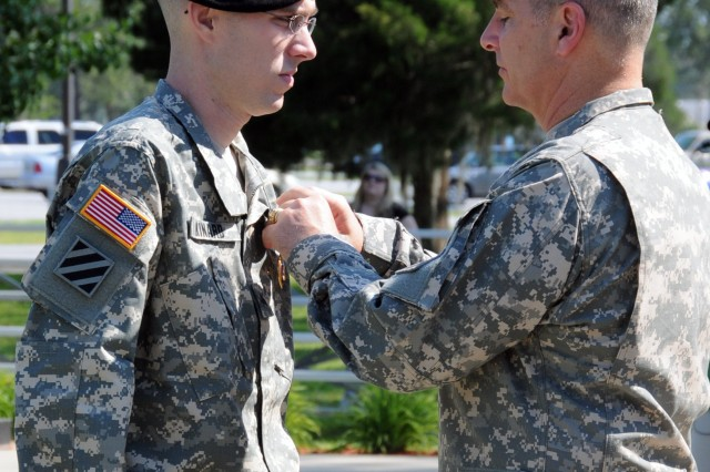 Spartan tanker awarded Purple Heart by CG