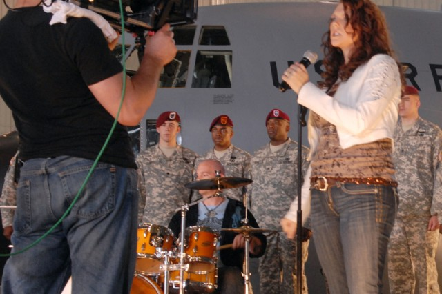 Action! Fort Bragg musician 'gives all' to troops in music video