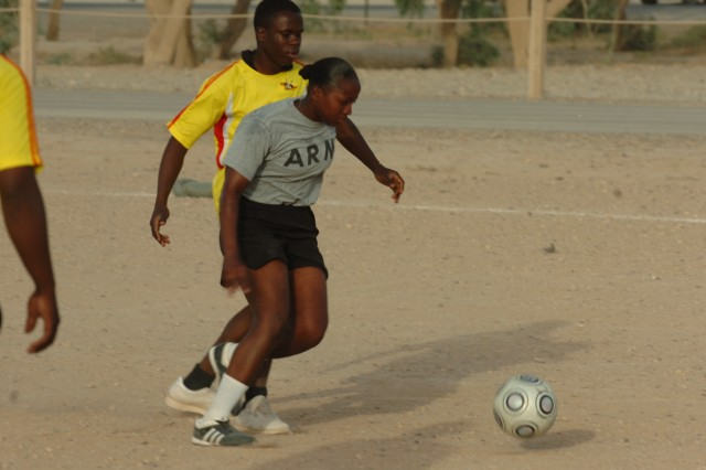 Speicher Soldiers compete in soccer tournament