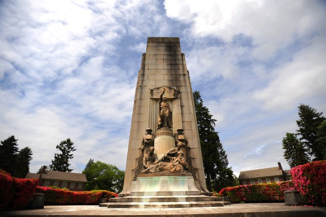 Joint Base Lewis-McChord Army's 91st Division monument recently turned 80 years old.