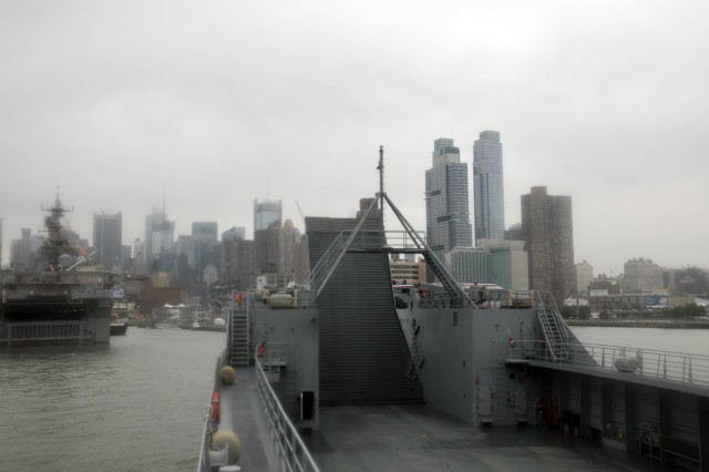 Water-borne Sustainers support Fleet Week in New York