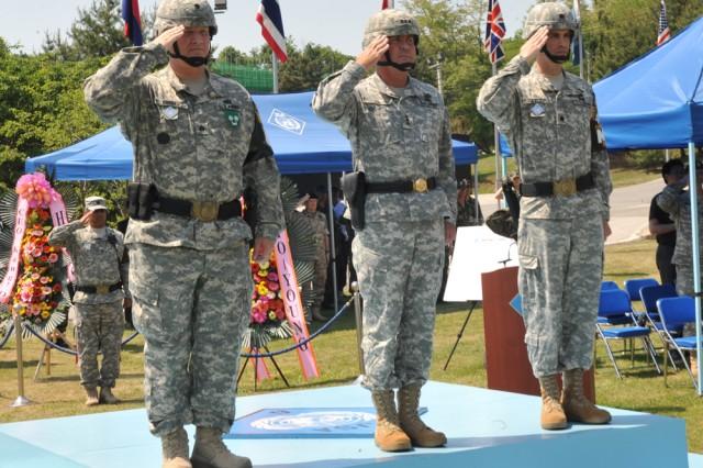 JSA Security Battalion holds change of command