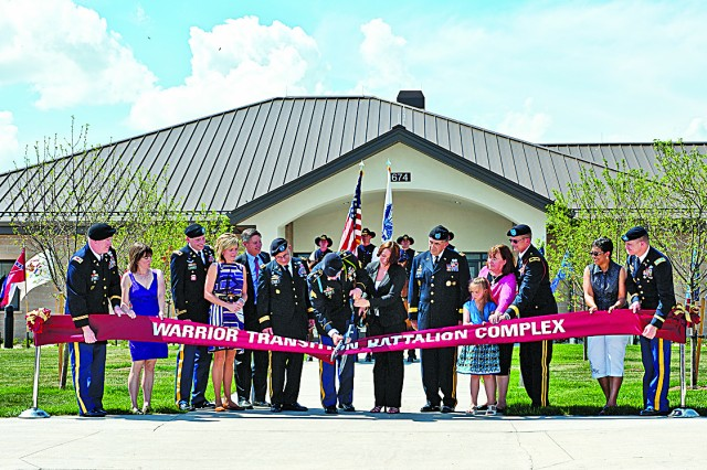 Fort Riley becomes home to the 1st Warrior Transition Battalion complex