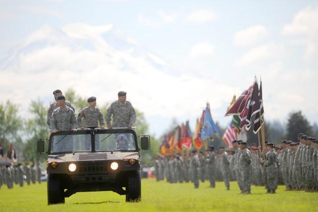 I Corps ceremony