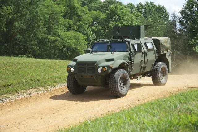 Army tests new tactical vehicle