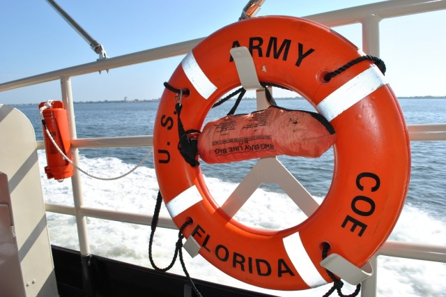 Among the U.S. Army Corps of Engineers' boating safety recommendations is to ensure boat have all required safety equipment fully operational.