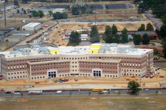 Aerial view of FORSCOM/USARC HQ, May 10, 2010