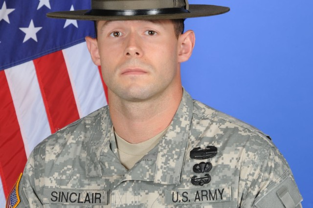 Sgt. Scott Sinclair, the 2010 98th Reserve Division Drill Sergeant of the Year, is competing in the Army Drill Sergeant of the Year competition from June 14-18 at Fort Monroe and Fort Eustis, Va.