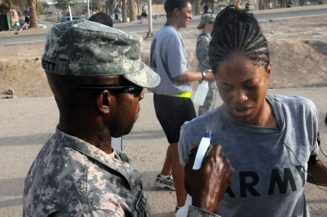 Servicemembers celebrate 235th Army birthday with ... a run