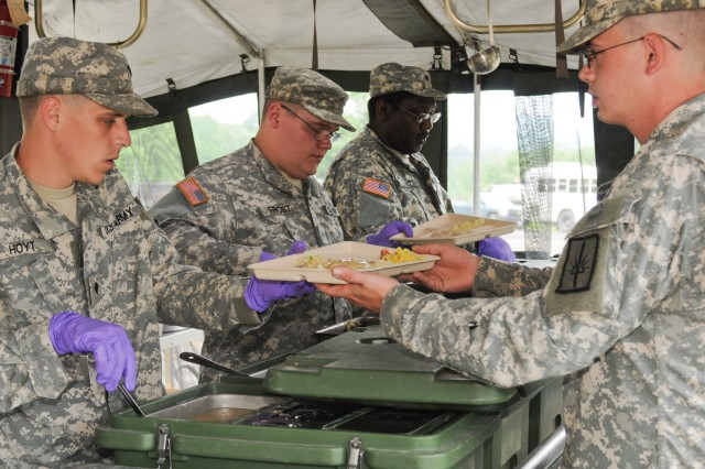 New York Army National Guard Cooks Vie for Top Army Cooking Honors