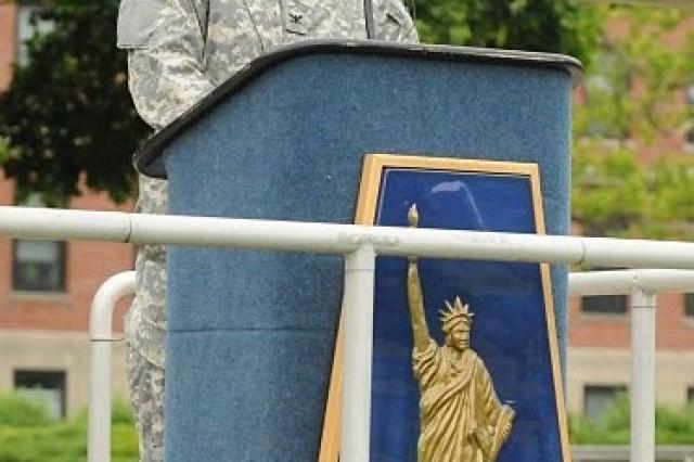 77th Sustainmet Brigade Assumption of Command Ceremony
