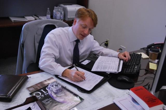 Gordon Church, foreign policy advisor for SDDC
