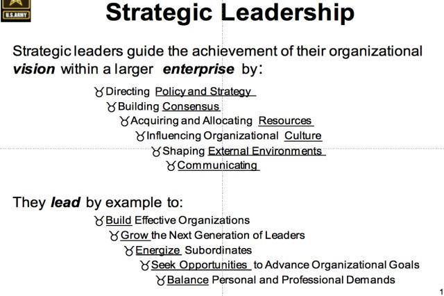 CSA Leadership slide