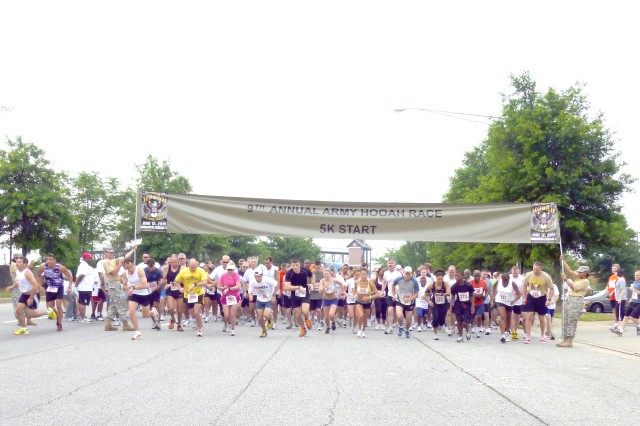 Fort's final Army Hooah Race sends community running
