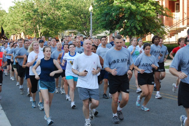 2010 Army Birthday Run